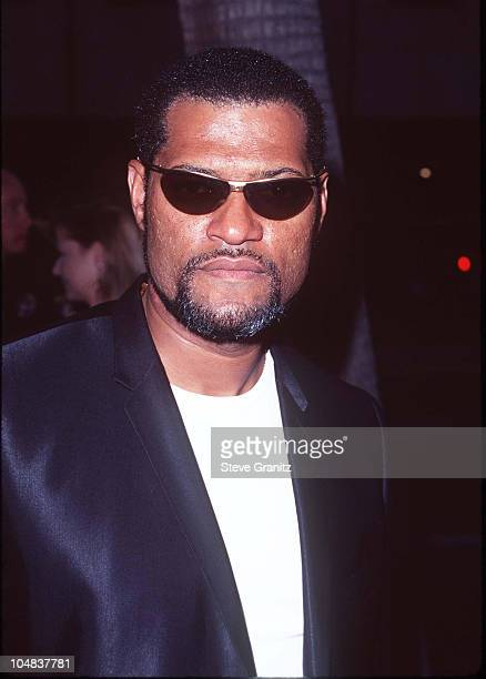Laurence Fishburne during Event Horizon Premiere at The Academy in Beverly Hills California United States