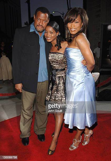 Laurence Fishburne Keke Palmer and Angela Bassett