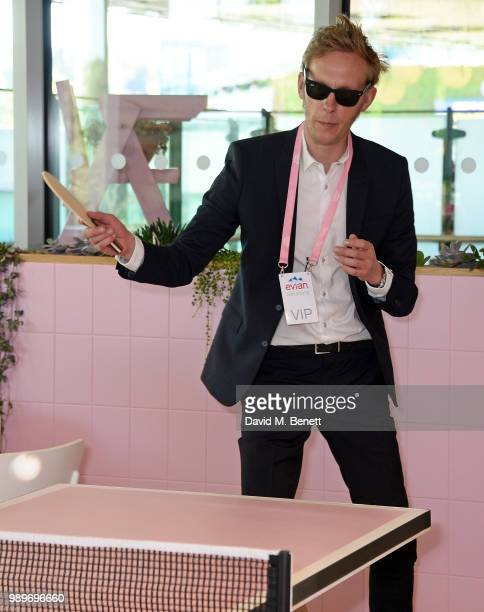 Laurence Fox attends the evian Live Young Suite at The Championship at Wimbledon on July 2 2018 in London England