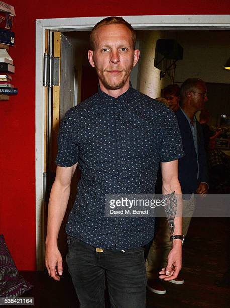 Laurence Fox attends the press night after party for 'A Midsummer Night's Dream' at Southwark Playhouse on June 6 2016 in London England