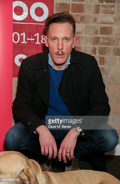 Laurence Fox attends the press night performance of The Patriotic Traitor at the Park Theatre on February 25 2016 in London England