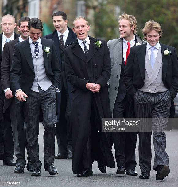 Laurence Fox On His Wedding Day At The Parish Church Of St Mary In Easebourne West Sussex