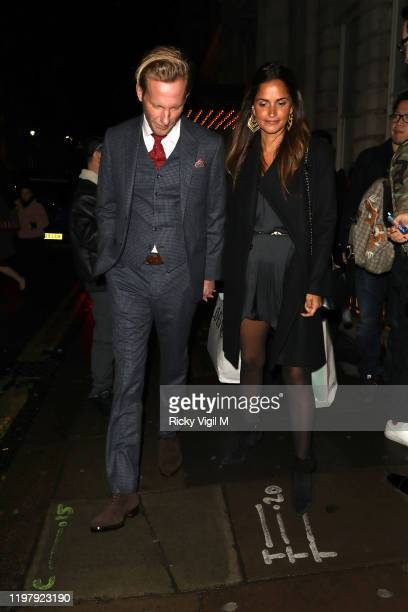 Laurence Fox seen attending LFW a/w 2020 GQ Dinner on January 06 2020 in London England