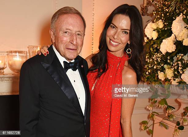 Laurence Graff and Josephine Daniel attend a VIP preview of the new site for Annabel's 46 Berkeley Square on September 30 2016 in London England