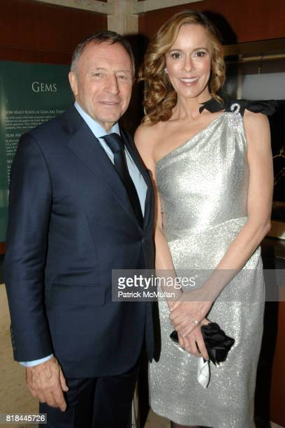 Laurence Graff and Julia Koch attend WITTELSBACHGRAFF DIAMOND Unveiling Private Dinner at Smithsonian National Museum of Natural History on January...