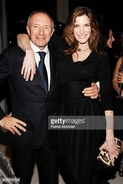 Laurence Graff and Stephanie Seymour Brant attend GRAFF Flagship Salon Opening hosted by LAURENCE GRAFF at Graff Flagship Salon on November 13 2008...