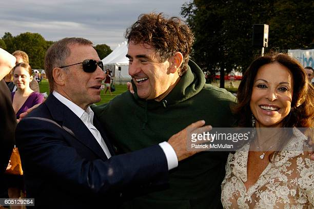Laurence Graff Peter Brant and Anne Marie Graff attend The GRAFF DIAMOND CUP Plays Host to the NYU Medical Center's Luncheon Chaired by Stephanie...