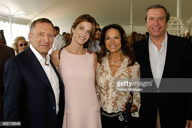 Laurence Graff Stephanie Seymour Brant Anne Marie Graff and Henri Barguirdjian attend The GRAFF DIAMOND CUP Plays Host to the NYU Medical Center's...