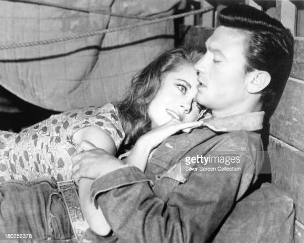 Laurence Harvey as Dove Linkhorn and Jane Fonda as Kitty Twist in 'Walk On The Wild Side' directed by Edward Dmytryk 1962