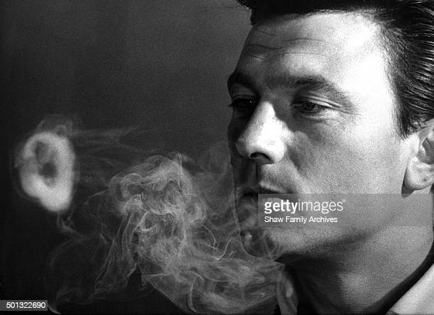 Laurence Harvey in 1961 during the filming of Walk on the Wild Side in New Orleans Louisiana