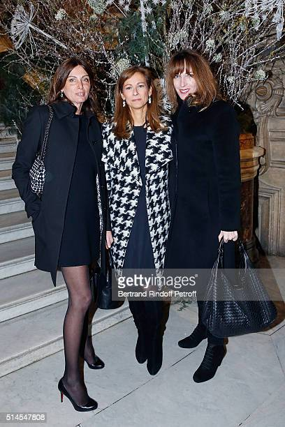 Laurence Katche Anne Gravoin and Stephanie Jarre attend the Arop Charity Gala At the Opera Garnier under the auspices of Madam Maryvonne Pinault on...