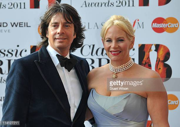 Laurence Llewelyn Bowen and Jackie Llewelyn Bowen arrive at The Classic BRIT Awards at Royal Albert Hall on May 12 2011 in London England