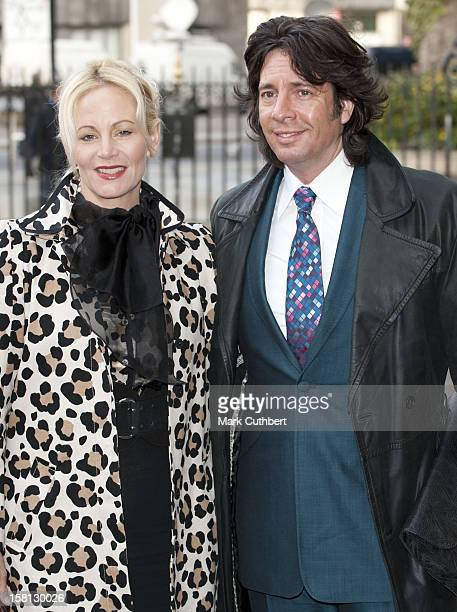 Laurence Llewelyn Bowen And Jackie Llewelyn Bowen Arrive For The Woman'S Own Children Of Courage Awards At Westminster Abbey London