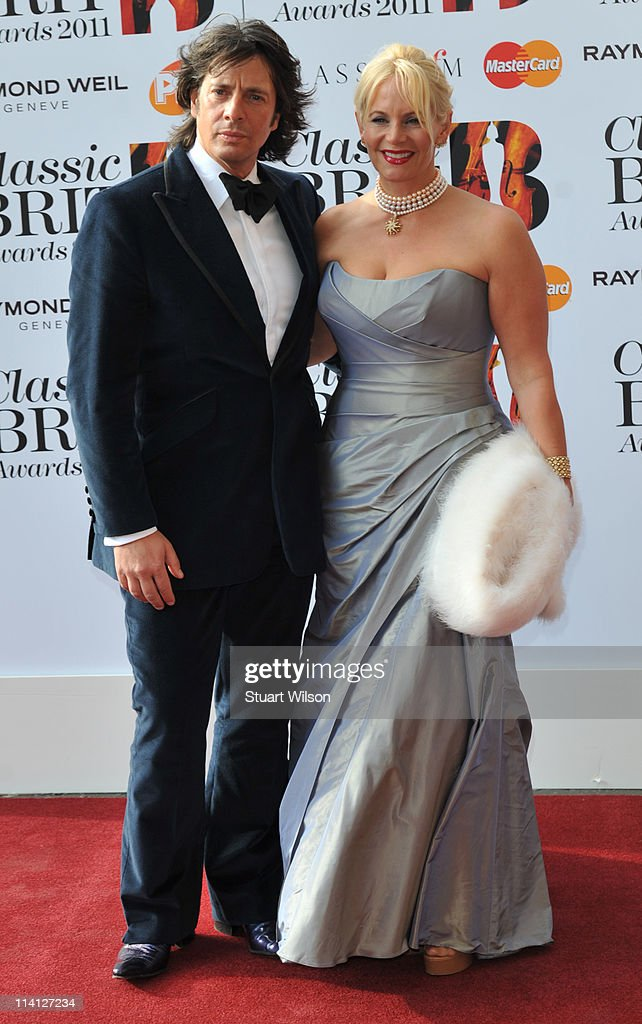 Laurence Llewelyn Bowen and Jackie Llewelyn Bowen arrives at The Classic BRIT Awards at Royal Albert Hall on May 12, 2011 in London, England.