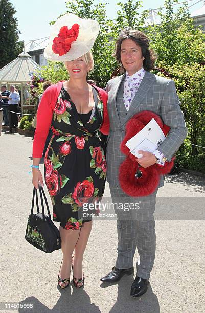 Laurence Llewelyn Bowen's and his wife Jackie during Chelsea Flower Show Press and VIP Day on May 23 2011 in London England