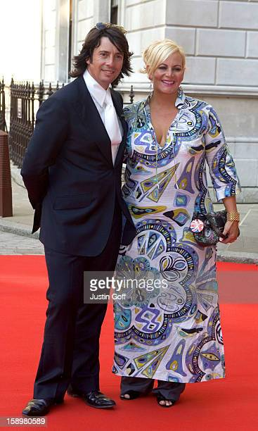 Laurence LlewelynBowen And His Wife Jackie Attends The Royal Academy Summer Exhibition 2006 Preview Party At London'S Royal Academy Of Arts