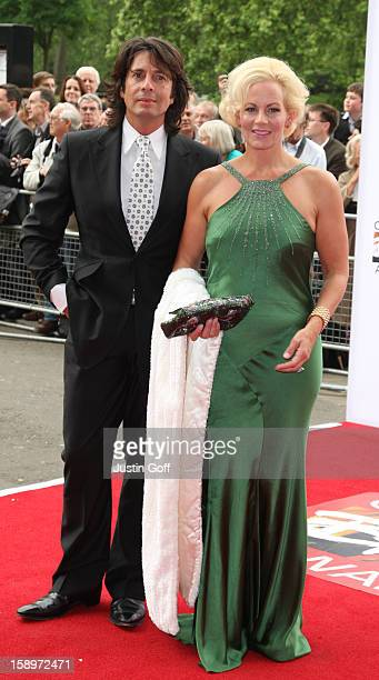 Laurence LlewelynBowen And His Wife Jackie LlewelynBowen Arrive For The 2009 Classical Brit Awards At The Royal Albert Hall London