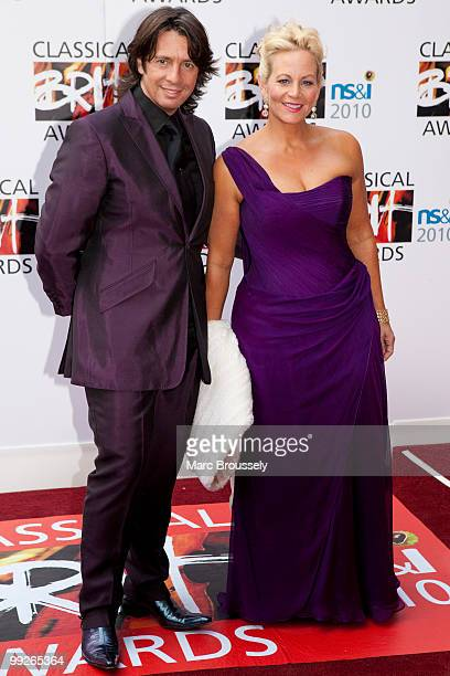 Laurence LlewelynBowen and Jackie LlewelynBowen attend the Classical BRIT Awards at Royal Albert Hall on May 13 2010 in London England
