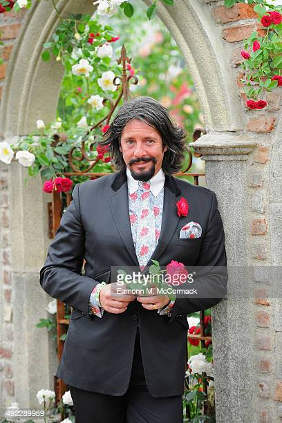 Laurence LlewelynBowen attends the VIP preview day of The Chelsea Flower Show at The Royal Hospital Chelsea on May 19 2014 in London England