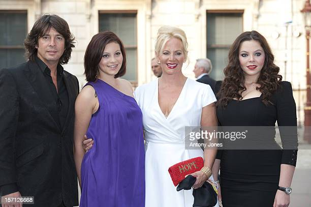 Laurence LlewelynBowen His Wife And Their Two Daughters Cecile And Hermione Attend The Royal Academy Of Arts' Summer Exhibition Preview Party At The...