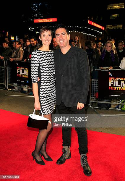 Laurence Malkin attends the red carpet arrivals of Kill Me Three Times during the 58th BFI London Film Festival at Odeon West End on October 18 2014...