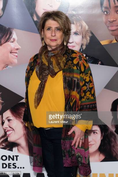 Laurence Meunier attends the Pygmalionnes Screening At Assemblee Nationale on January 14 2020 in Paris France