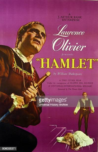 Laurence Olivier 'Hamlet' Hamlet a 1948 British film adaptation of William Shakespeare's play