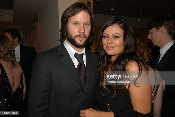 Laurence PenryJones and Polly Walker attend HBO Golden Globes Afterparty at The Beverly Hilton on January 16 2006 in Beverly Hills CA