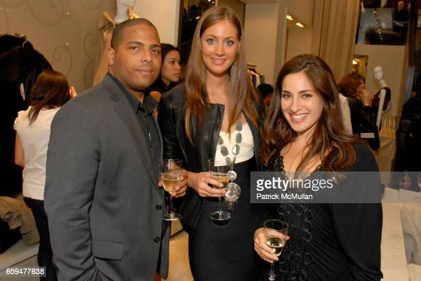 Laurence Roman Erin Gray and Lauren Dey attend FASHION'S NIGHT OUT at ELIE TAHARI SOHO with Performance by ALEXA RAY JOEL at Elie Tahari Soho on...