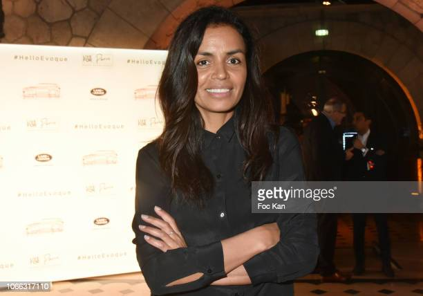 Laurence Roustandjee attends 'Range Rover Evoque' Unveilling party at Le Faust on November 28 2018 in Paris France
