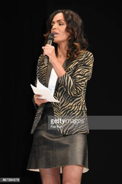 Laurence Roustandjee attends 'Salon Du Chocolat 2017 Chocolate Fair' Auction Show in Benefit of Mecenat Chirurgie Cardiaque at Parc des Expositions...