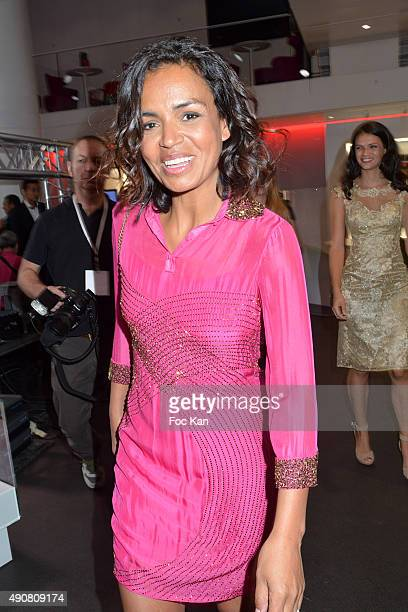 Laurence Roustandjee attends the Christophe Guillarme show as part of the Paris Fashion Week Womenswear Spring/Summer 2016 on September 30 2015 in...