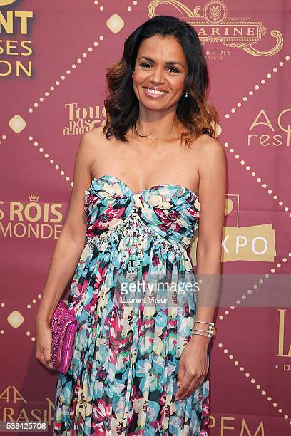 Laurence Roustandjee attends the 'Gold Prix De La TNT' Award Ceremony at Theatre Bobino on June 6 2016 in Paris France