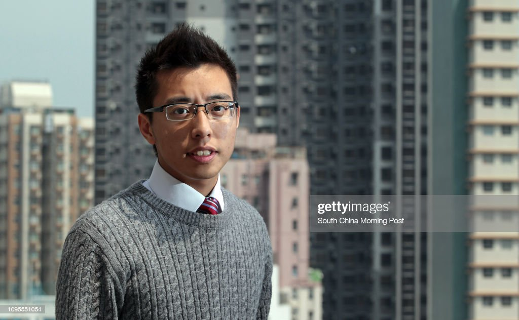 Laurence Tang Yat-long, former president of The Hong Kong University Students' Union, poses for a photograph in HKU. 24MAR15 : ニュース写真