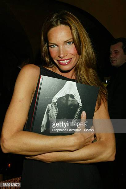 Laurence Treil attends the party for the new book by JeanMarie Marion Portraits de Femmes