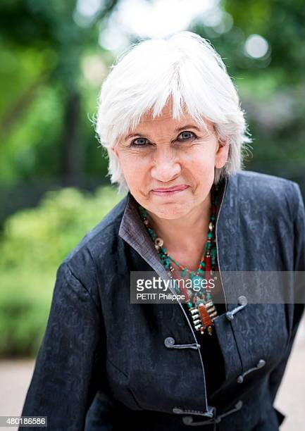 laurence tubiana portrait session 画像と写真 getty images