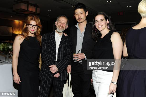 Laurene Boym Constantin Boym Aric Chen and Annie Block attend FLOS Private Store Viewing and Dinner at 152 Greene St on May 14 2010 in New York City