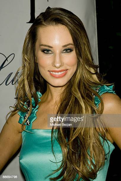 LaurenElaine attends the LaurenElaine designs runway event at Le Doux on June 25 2009 in Los Angeles California
