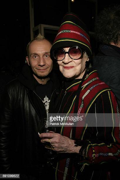 Laureng and Zelda Kaplan attend Edie Sedgwick Unseen Photographs of a Warhol Superstar Opening Reception Hosted by Misha Sedgwick at Gallagher's Art...