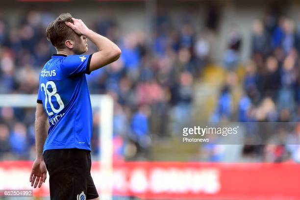 Laurens De Bock defender of Club Brugge pictured after the Jupiler Pro League match between Club Brugge and SintTruiden in Jan Breydel stadium on...