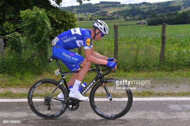 Laurens De Plus of Belgium and Team QuickStep Floors / during the 70th Criterium du Dauphine 2018 Stage 4 a 181km stage from ChazeysurAin to...