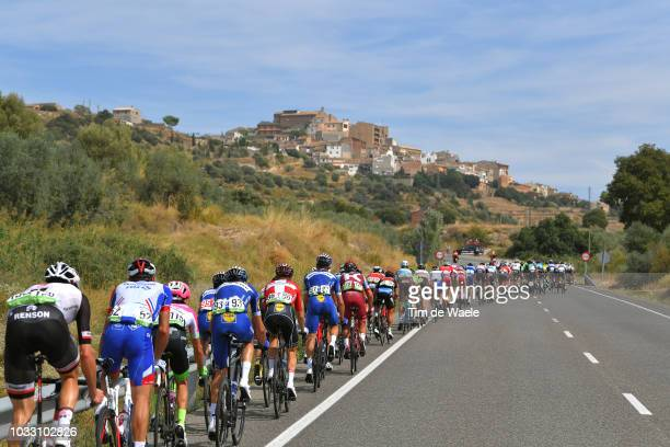 Laurens De Plus of Belgium and Team QuickStep Floors / Enric Mas of Spain and Team QuickStep Floors Best Young Rider / Jhonatan Restrepo of Colombia...