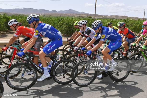 Laurens De Plus of Belgium and Team QuickStep Floors / Pieter Serry of Belgium and Team QuickStep Floors / during the 73rd Tour of Spain 2018 Stage 6...
