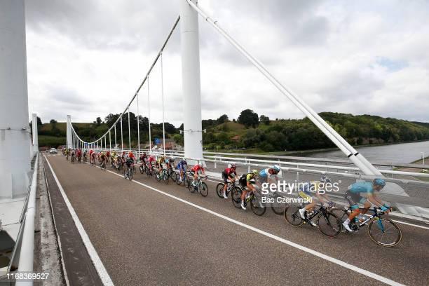 Laurens De Vreese of Belgium and Astana Pro Team / Piet Allegaert of Belgium and Team Sport VlaanderenBaloise / Stijn Vandenbergh of Belgium and Team...