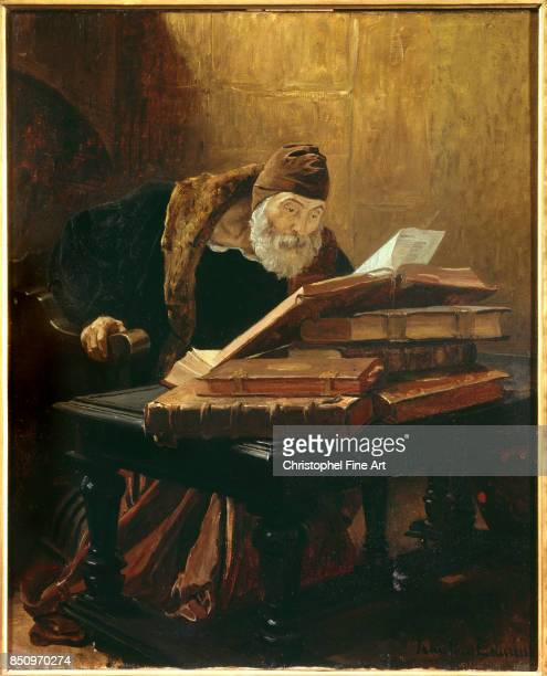 Laurens Jean Paul The Old Scientist or the Alchemist Toulouse Augustins Museum