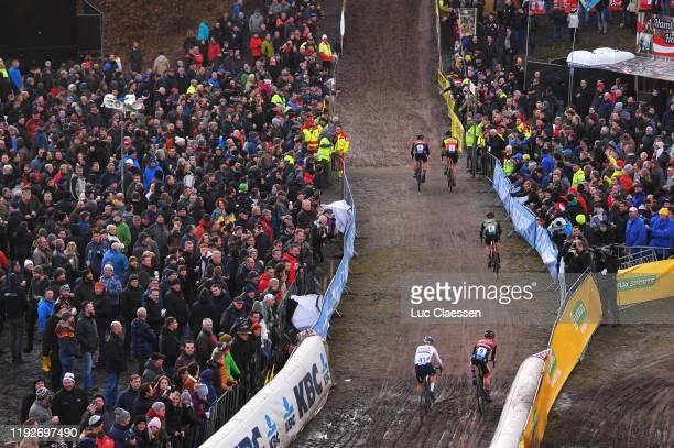 Laurens Sweeck of Belgium and Pauwels Sauzen-Bingoal / Toon Aerts of Belgium and Team Telenet - Baloise Lions / Quinten Hermans of Belgium and Team...
