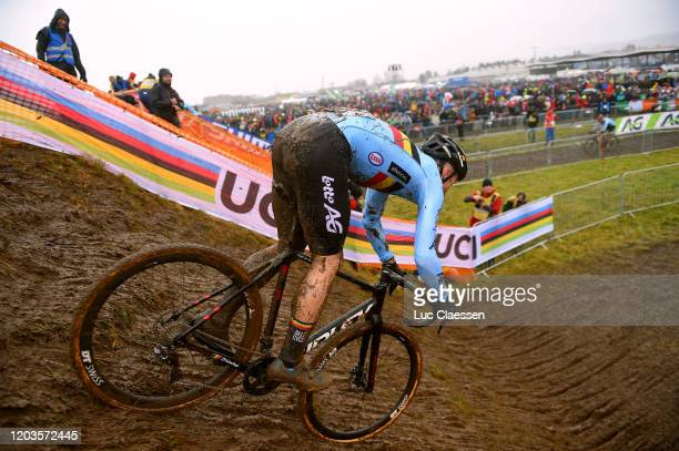Laurens Sweeck of Belgium / Public / Fans / Mud / Landscape / during the 71st Cyclocross World Championships Dübendorf 2020 - Men Elite / @UCI_CX /...