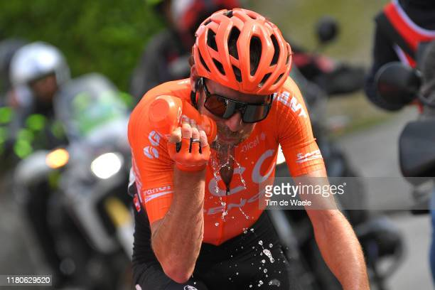 Laurens ten Dam of The Netherlands and CCC Team / Feed Zone / Refreshment / Detail view / during the 113th Il Lombardia 2019 a 243km race from...