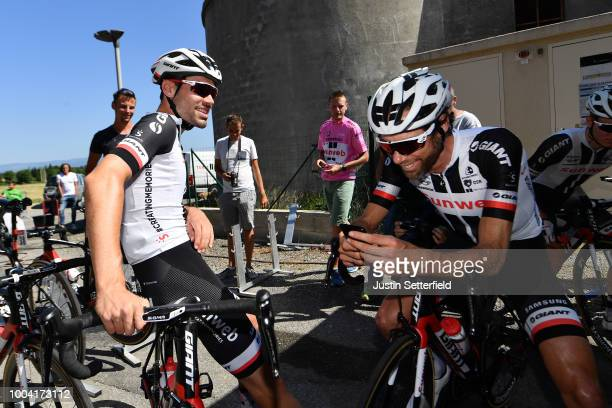 Laurens Ten Dam of The Netherlands and Team Sunweb / Tom Dumoulin of The Netherlands and Team Sunweb / during the 105th Tour de France 2018 /...
