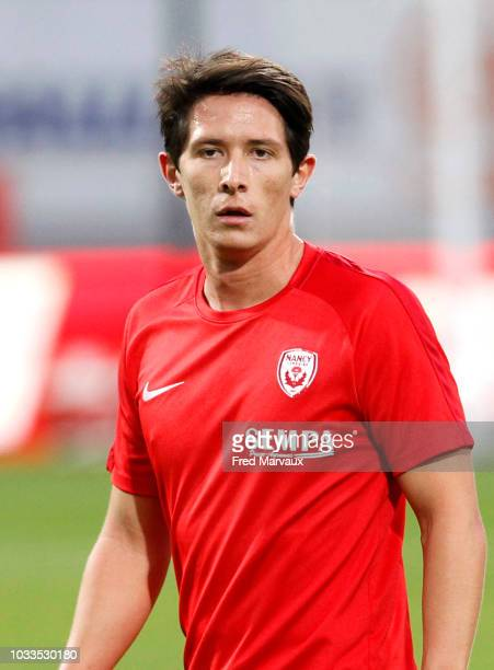 Laurent Abergel of Nancy during the French Ligue 2 match between Nancy and Le Havre on September 14 2018 in Nancy France